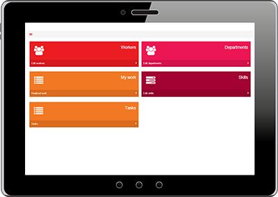 GDi Vizion Workforce tablet